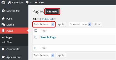 membuat front page wordpress panduan membuat post dan page baru di wordpress update