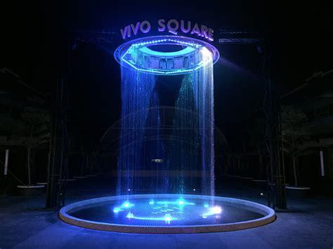 water curtain fountain water drop fountain circular malsic fountain