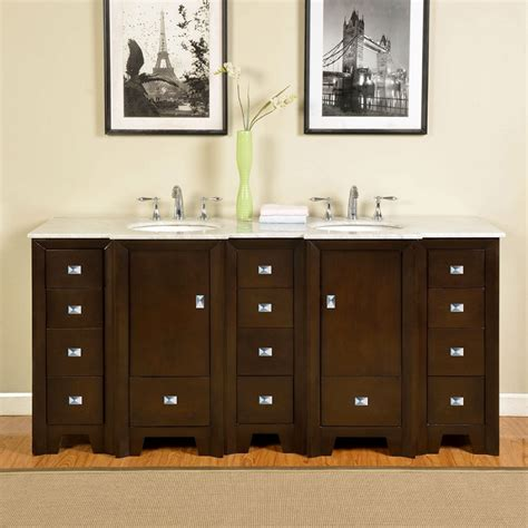 73 inch bathroom vanity 73 inch double sink bathroom vanity with carerra white