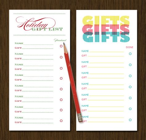 gift list benign objects 25 days of freebies and giveaways day