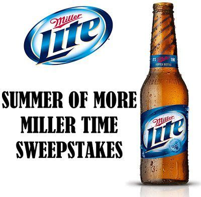 Miller Time Twenty8twelve Also Soon To Be Available At Asoscom millerlite summer of more miller time sweepstakes