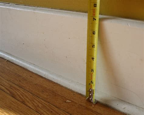 baseboard height a diy baseboard trim tutorial part 1 of 2 merrypad