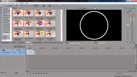 tutorial sony vegas effects sony vegas circle effect tutorial download youtube