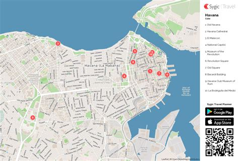 printable map havana havana printable tourist map sygic travel