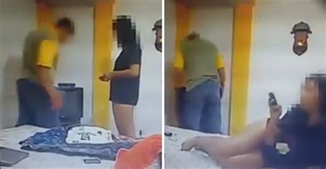 hide cam hidden camera footage shows naughty wife attempting to