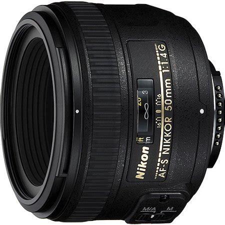 nikon af s nikkor 50mm f/1.4g wide angle lens walmart.com
