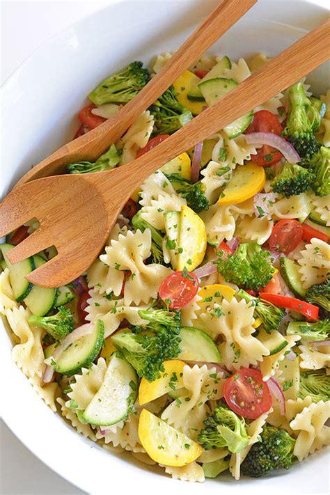 garden vegetable pasta salad garden vegetable pasta salad recipe