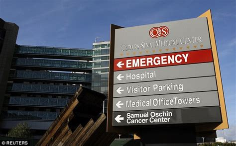 Confirmed Has Been Admitted To Cedars Sinai by Second Los Angeles Hospital Reports Superbug Infections