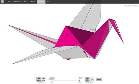 Origami Graphic Design - un simulateur d origami avec export 3d par amanda