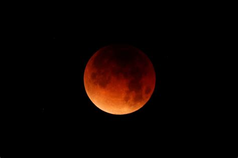 Moon Bloody Moon photos of the blue blood moon lunar eclipse