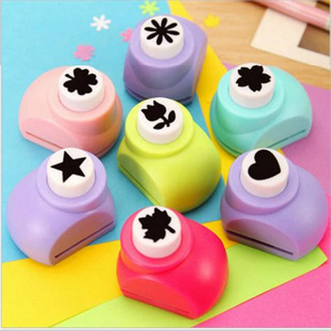 Paper Punches For Crafts - 5pcs set free shipping paper cutter scrapbook paper punch
