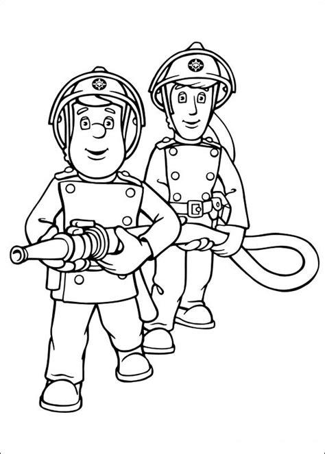imagenes para colorear niños heroes sam el bombero dibujos para colorear para ni 241 os 13