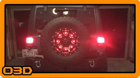 jk third brake light relocation cpo led third brake light how to