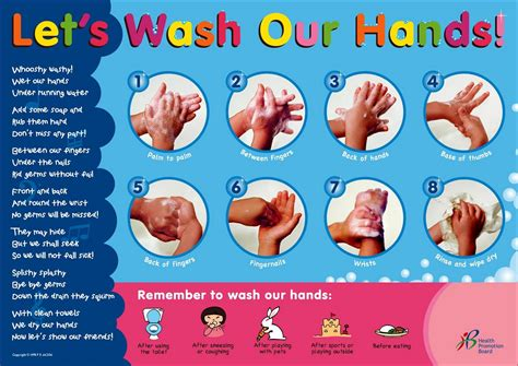 printable hand washing poster mrs egea s class unit 7 grow healthy and good habits