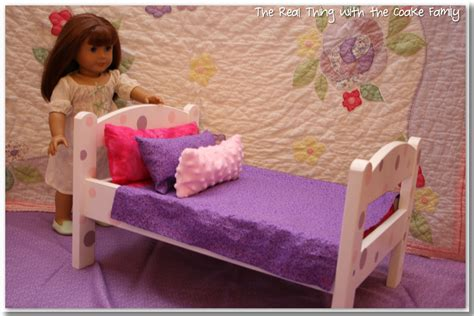 american doll bed free american girl doll bedding pattern