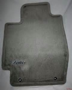 2005 toyota camry oem carpeted floor mats gray ebay