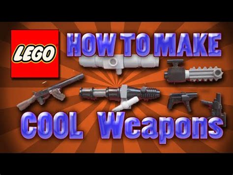 lego weapons tutorial lego custom weapon tutorials doovi