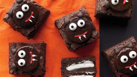 How To Decorate Brownies by Scaredy Cat Brownies