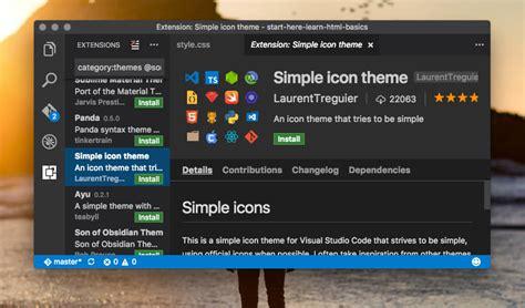 web design code editor visual studio code my new favorite code editor