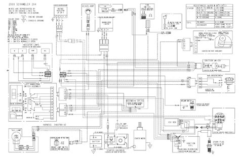 2006 500 efi polaris wiring diagram wiring diagrams