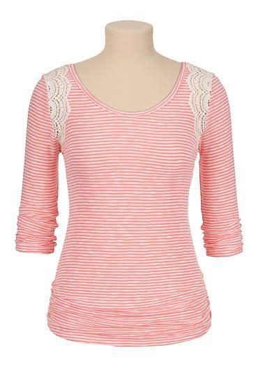 Maurices Striped Chrocet Trim Tank 62 best style of my images on my style