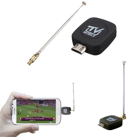 Tv Tuner Android Phone mini micro usb dvb t digital mobile tv tuner receiver for