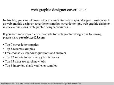 Thank You Letter Graphic Design web graphic designer cover letter