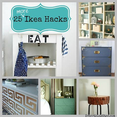 home decor hacks 25 more ikea hacks diy home decor