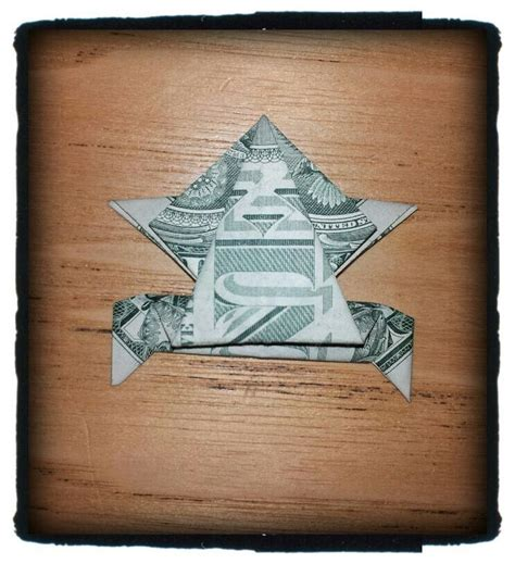 origami dollar frog jumping frog money origami frogs