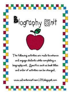unit 7 biography and autobiography 1000 images about biography unit on pinterest graphic