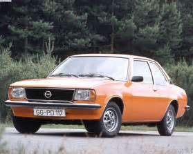 Opel Ascona A Opel Ascona Review Powertrain And Technical Equipment