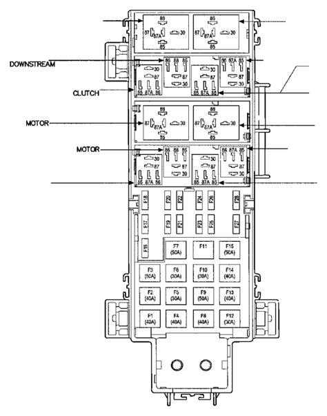 dodge avenger fuse fuse cartridge  case  amp export mexico  canada trim