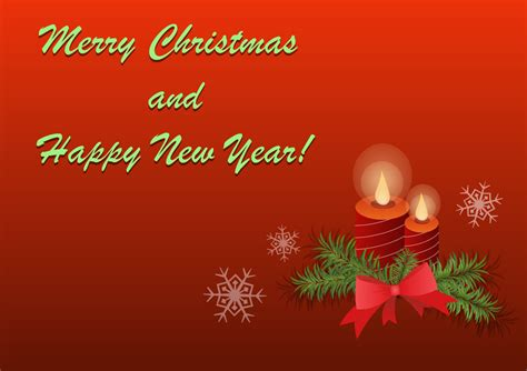 Merry Christmas And Happy New Year Gift Card - merry christmas and happy new year