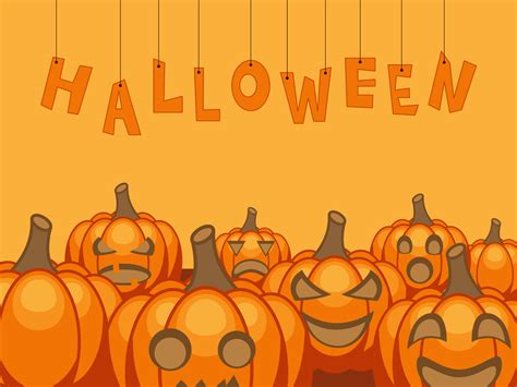 halloween backgrounds for powerpoint halloween powerpoint halloween with pumpkins backgrounds presnetation ppt