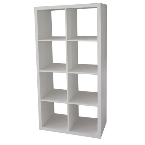 cube storage unit clever cube 2 x 4 white storage unit bunnings warehouse