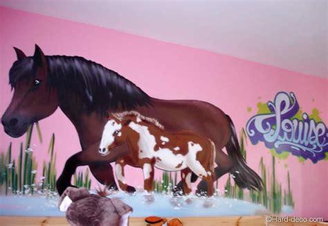 chambre fille cheval deco de chambre theme cheval