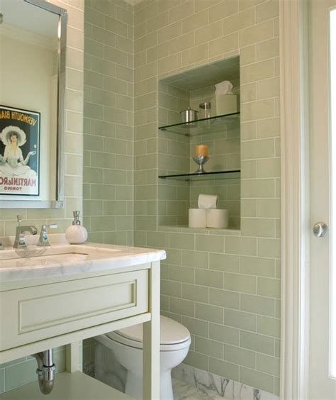 marvelous Light Blue Bathroom Ideas #4: sage_green_bathroom_tiles_19.jpg