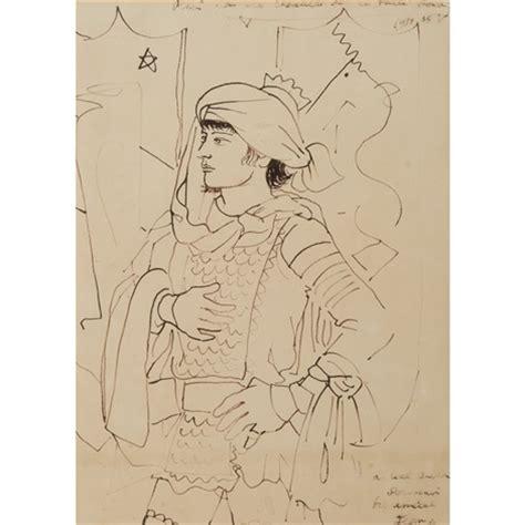 dessin pour les chevaliers de la table ronde by jean cocteau on artnet