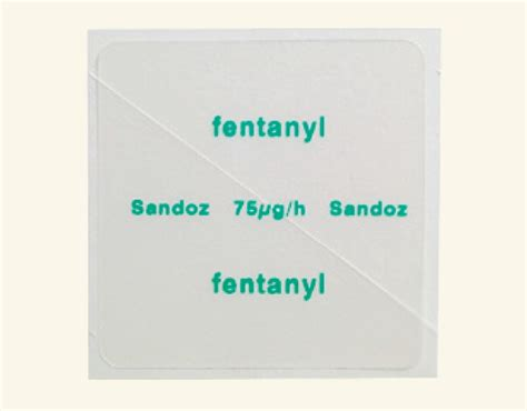 Detoxing Fentanyl by Fentanyl Patch For Opiate Withdrawal Rightintermq
