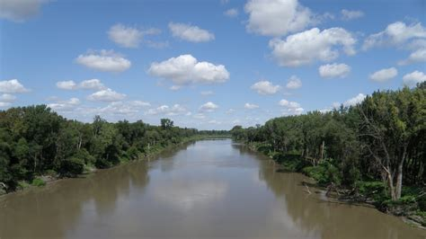 read river the river oxcart trail the pembina woods trail the