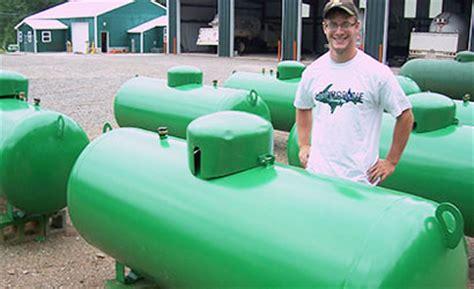 up propane tank information