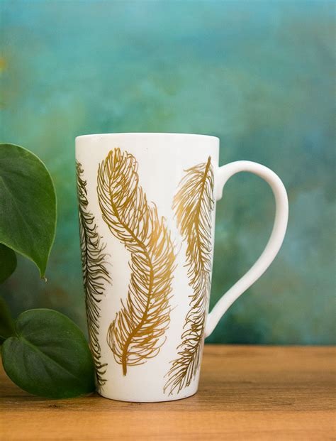 tutorial design mug diy modern mug makeover love this simple and super
