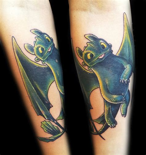toothless tattoo 1000 images about toothless the on