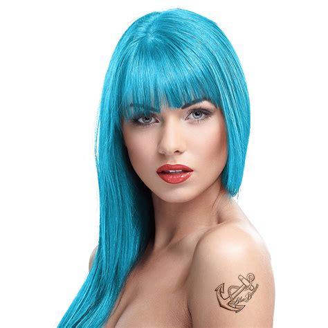 hair color shoo color semi permanent bubblegum blue bright colour