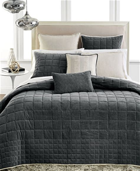 hotel coverlet bedding closeout hotel collection velvet coverlet collection