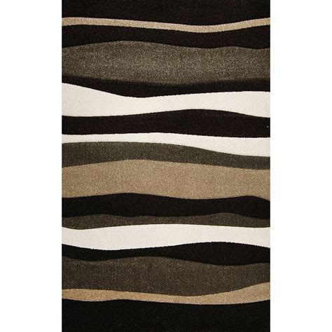 home depot runner rugs home dynamix bazaar zag brown 5 ft 2 in x 7 ft 2 in area rug 2 2382 514 the home depot