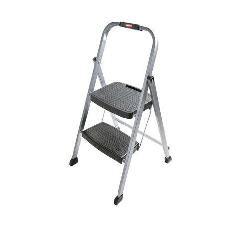 rubbermaid 2 step steel stool rubbermaid 2 step steel step stool ladder rm 2w the home