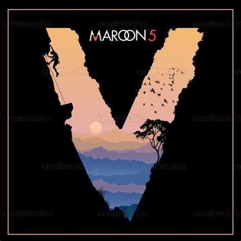 design cover maroon 5 maroon 5 album cover by kimkong on creativeallies com