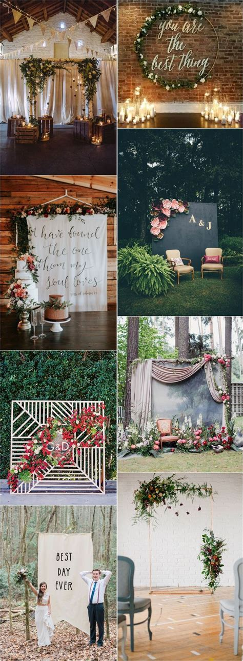 318 best Wedding Backdrops images on Pinterest   Vintage