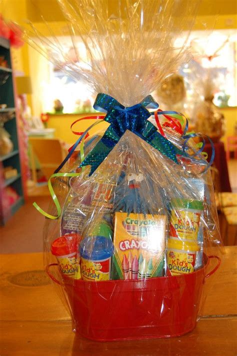 gift basket idea for kids birthday or other occasion gift